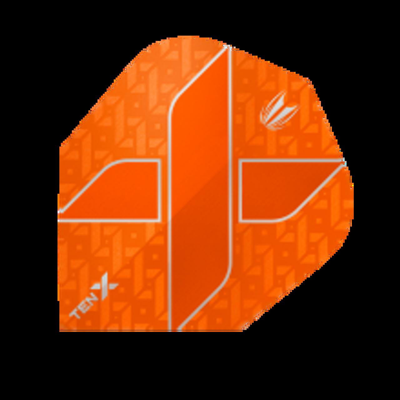 Target Ten-X Dart Flights Orange