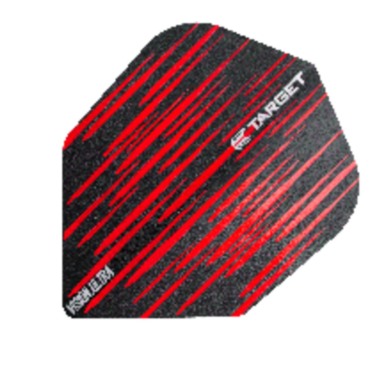 TARGET VISION ULTRA NO6 SPECTRUM RED STANDARD SHAPE FLIGHTS