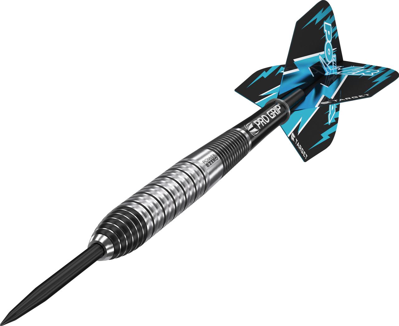 Phil Taylor Power 8ZERO Gen II 26gram Steel Tip Dart From Target Darts
