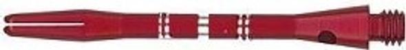"""COLORMASTER RED Medium 2"""" Aluminum Dart Shafts 35-6505-02"""