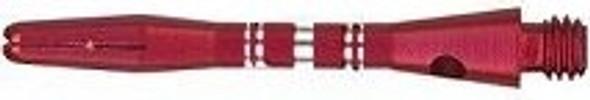 COLORMASTER RED Short Aluminum Dart Shafts 35-6503-02