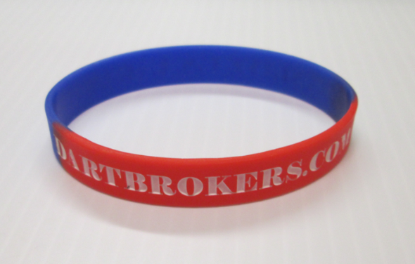 Dart Brokers DARTSLIVE rubber wristband