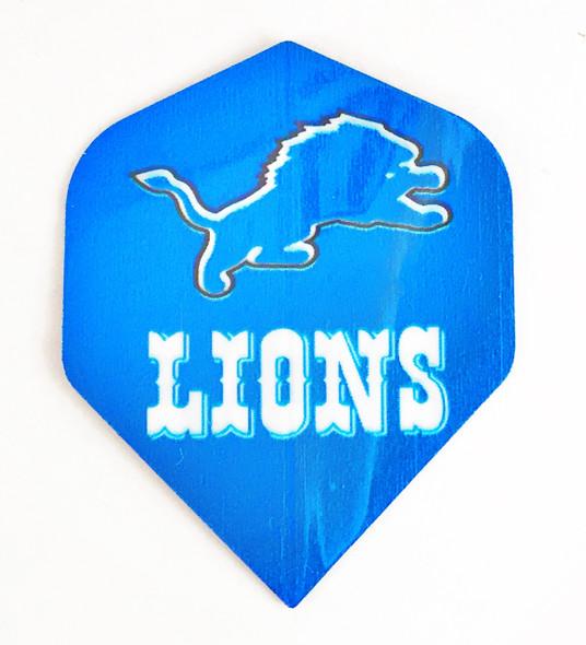 Detroit Lions Dart Flights, Standard