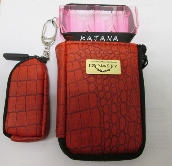 Dynasty / L-Style SAYA Case - Croco Red