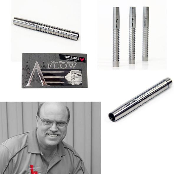 A-Flow Larry Butler signature tungsten dart barrels