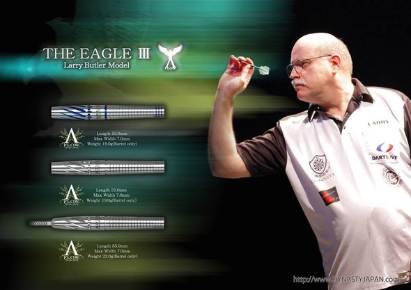 "Dynasty Larry Butler ""Eagle III"" 2ba Soft Tip Darts - 19g"