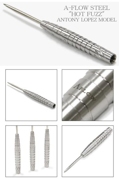 Dynasty A-Flow BL Hot Fuzz Steel Tip Darts - 25g