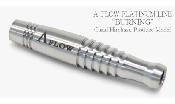 """Dynasty A Flow """"Burning"""" Soft tip darts 95% Tungsten 18g - Plantinum Line"""