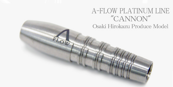 "Dynasty A Flow ""Cannon"" Soft tip darts 95% Tungsten 18g - Plantinum Line"