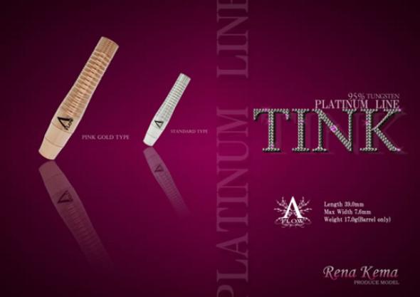 Dynasty A-Flow PL Gold Tink 2ba Soft Tip Darts - 18.5g