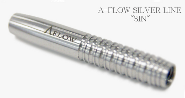 """A-Flow """"Sin"""" signature tungsten darts from Dynasty's Silver Line"""