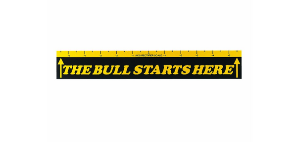 "Fat Cat ""The Bull Starts Here"" Black / Yellow Throw Line"