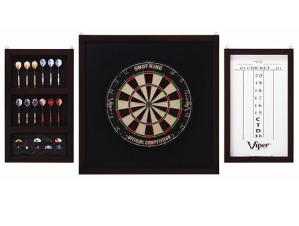 GLD Viper Championship Dartboard Backboard Set 41-0605