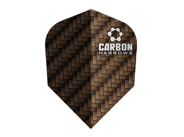 Harrows Carbon Flights - Burnt Orange