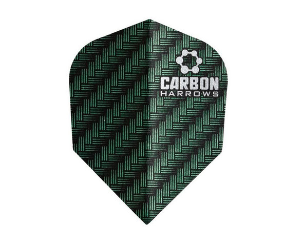 Harrows Carbon Flights - Green