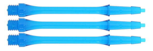 Harrows Clic Slim Medium 2ba Dart Shafts - Aqua