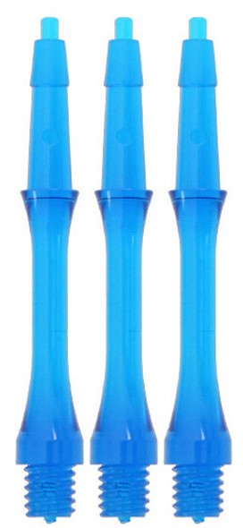Harrows Clic Slim Short 2ba Dart Shafts - Aqua
