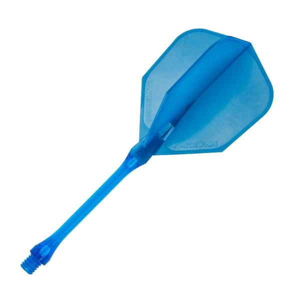 Harrows Clic Standard Dart Flights - Aqua