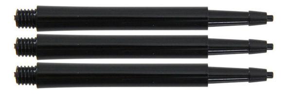 Harrows Clic Standard Midi 2ba Dart Shafts - Black