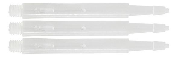 Harrows Clic Standard Short 2ba Dart Shafts - Clear