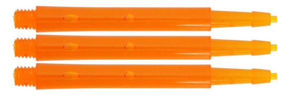 Harrows Clic Standard Short 2ba Dart Shafts - Orange