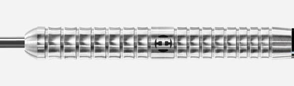 Harrows Pulse 22g Steel Tip Darts, 90% Tungsten, Supergrip Fusion Shafts, Prime Flights, Black Blue