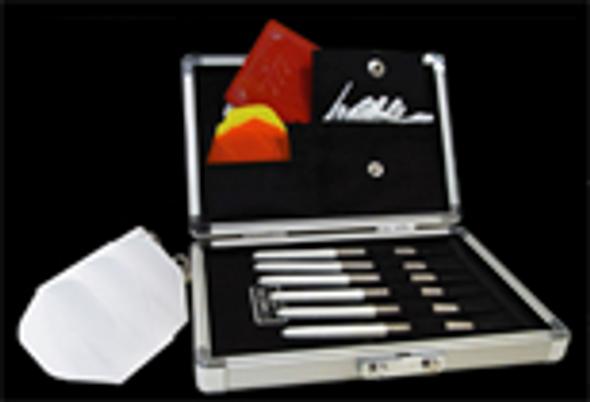 L-Style Al-Colors Aluminum Dart Case - Orange