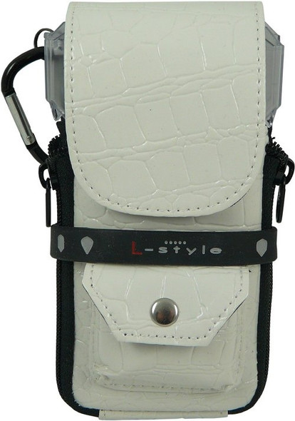 Crocodile white Krystal Colors dart case from L-Style