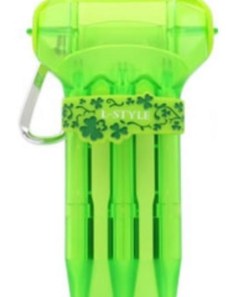 L-Style Krystal ONE Dart Flight Case - Green