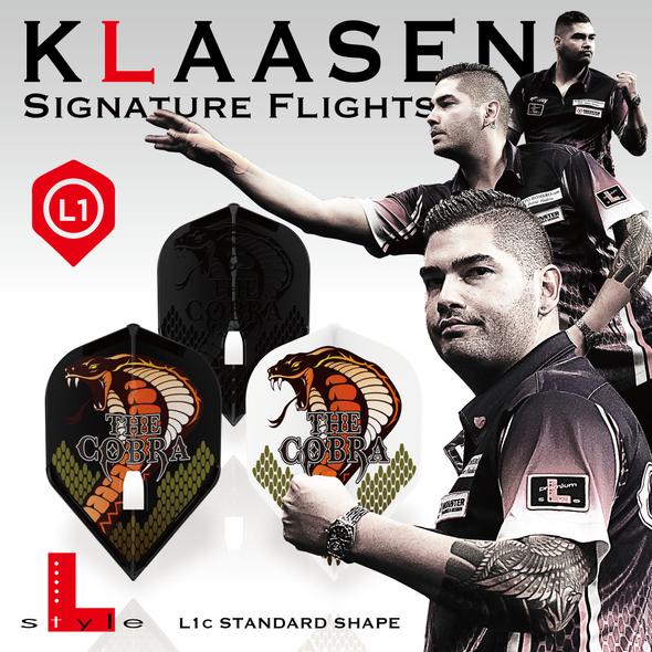 L-Style L1c Jelle Klaasen V3 Signature Champagne Flights - Black
