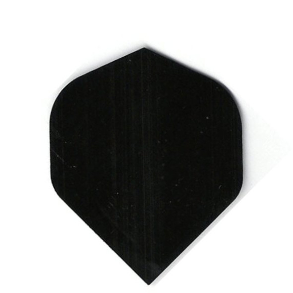 """BLACK"" Standard Poly Dart Flights PR505"
