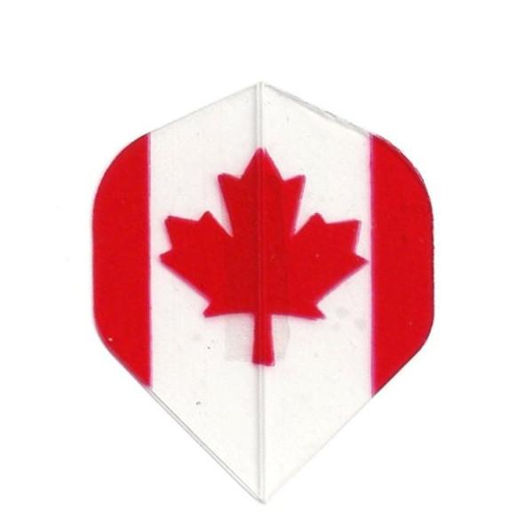 """CANADA"" Standard Poly Dart Flights PR519"