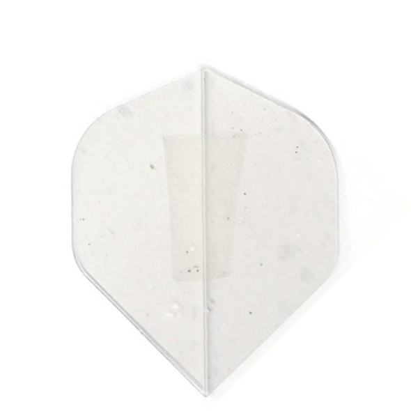 """CLEAR"" Standard Poly Dart Flights PR504"