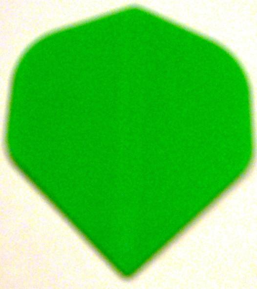 """GREEN"" Standard Poly Dart Flights PR503"
