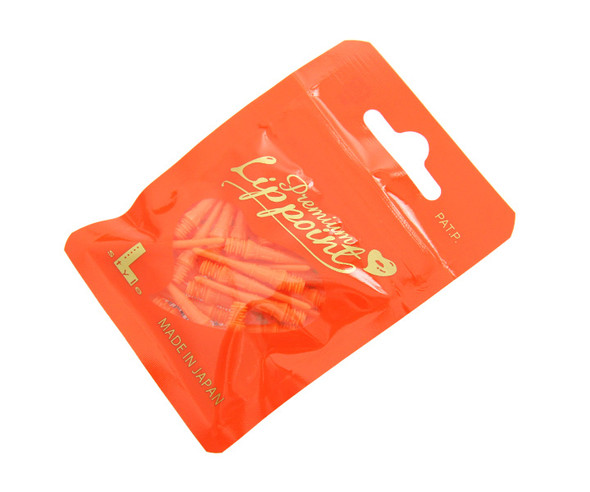 L-Style Premium Lippoint Soft Dart Tips - 2ba - Orange