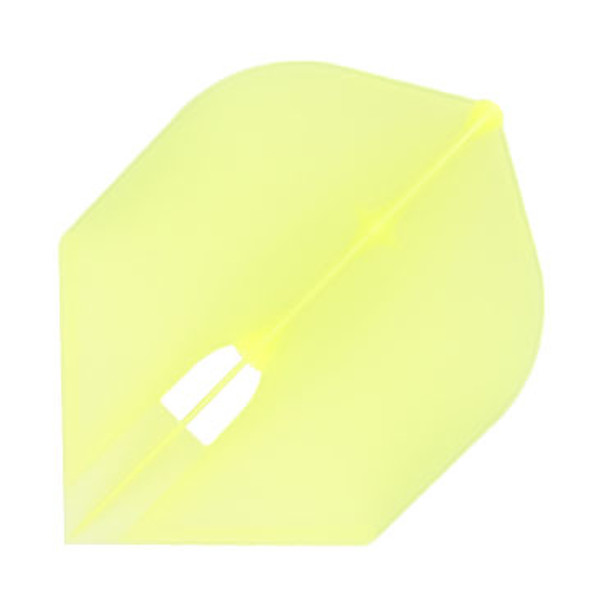 Rocket shape Champagne L-Flight in clear yellow