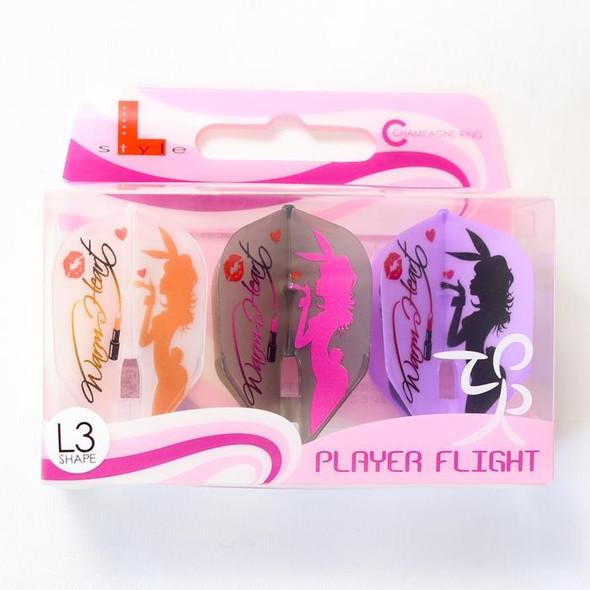 L-Style Sayaka V2 Warm Heart L3c Champagne Flights