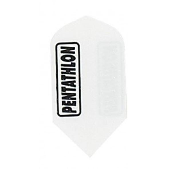 """Pentathlon 2321 """"WHITE EMBOSSED"""" SLIM"""