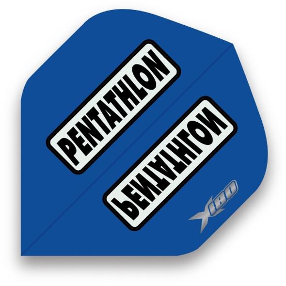 Pentathlon X180 Standard Dart Flights - Blue