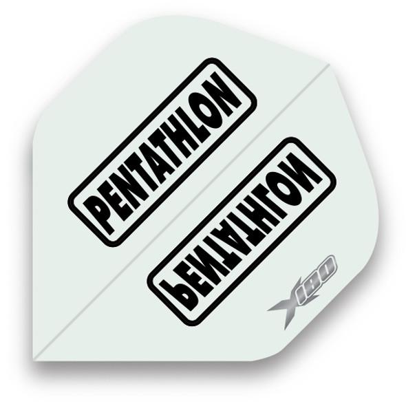 Pentathlon X180 Standard Dart Flights - Clear