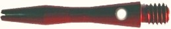 extra short red aluminum dart shaft