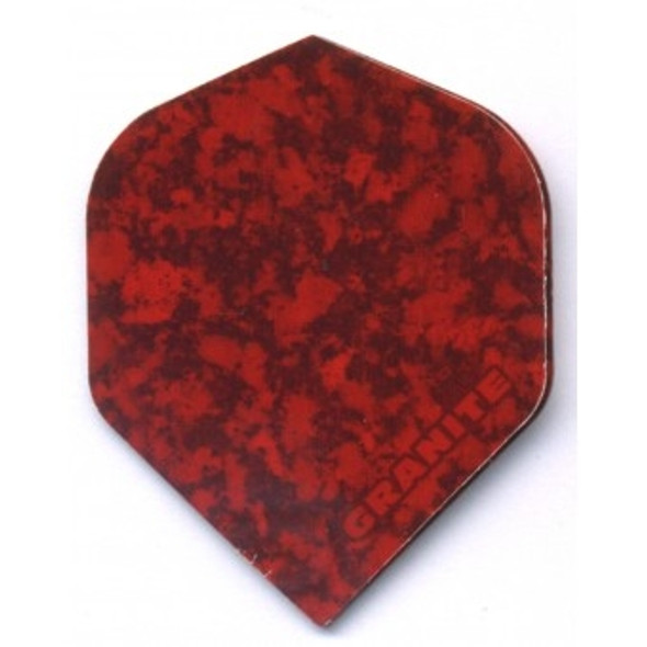 Ruthless Granite Standard Dart Flights - Red