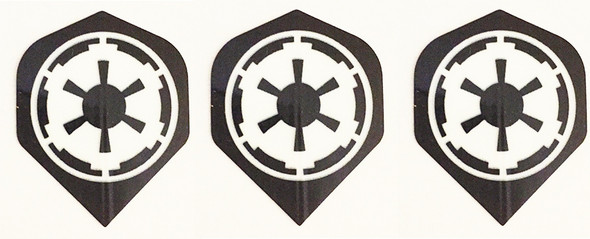Dart flights with the Star Wars EMPIRE logo.