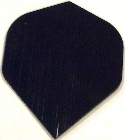 Supermetronic 30-2500 BLACK Standard Poly Dart Flights
