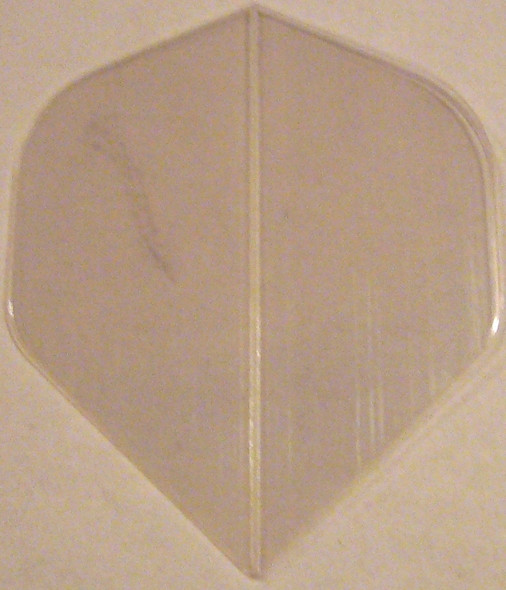 Supermetronic  30-2498 CLEAR Standard Poly Dart Flights