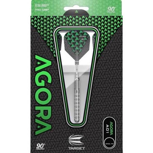 Target Agora A01 Steel Tip Darts - 24g