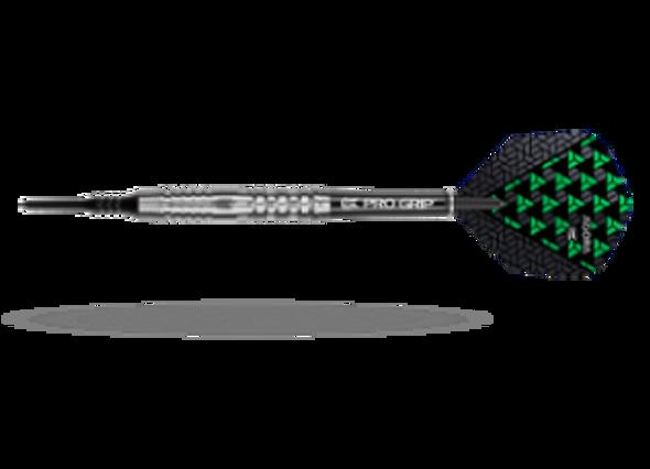 Target Agora A31 2ba Soft Tip Darts - 17g, 90% Tungsten, 100210, Pro Grip Shafts, Vision Ghost Flights, Black Pixel Tip