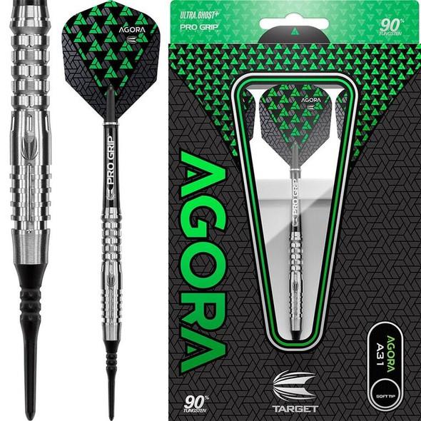 Target Agora A31 2ba Soft Tip Darts - 17g