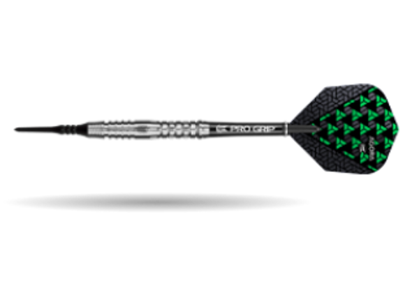 Target Agora A31 2ba Soft Tip Darts - 19g, 90% Tungsten, 100211, Pro Grip Shafts, Vision Ghost Flights, Black Pixel Tip