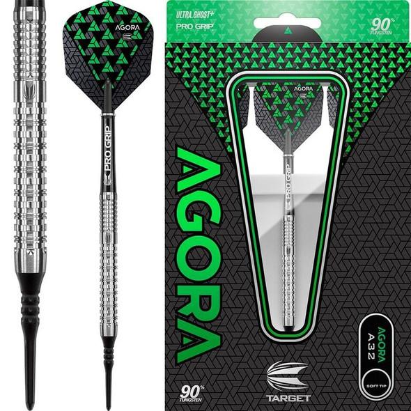 Target Agora A32 2ba Soft Tip Darts - 18g